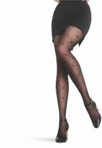 Elegance 15 DEN panty ZWART