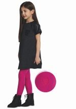Hearty 40 DEN panty KIDS FUCHSIA