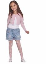 Teresa 15 DEN panty KIDS ROSE