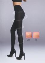 Stop cellulite 70 DEN panty KASTANJE