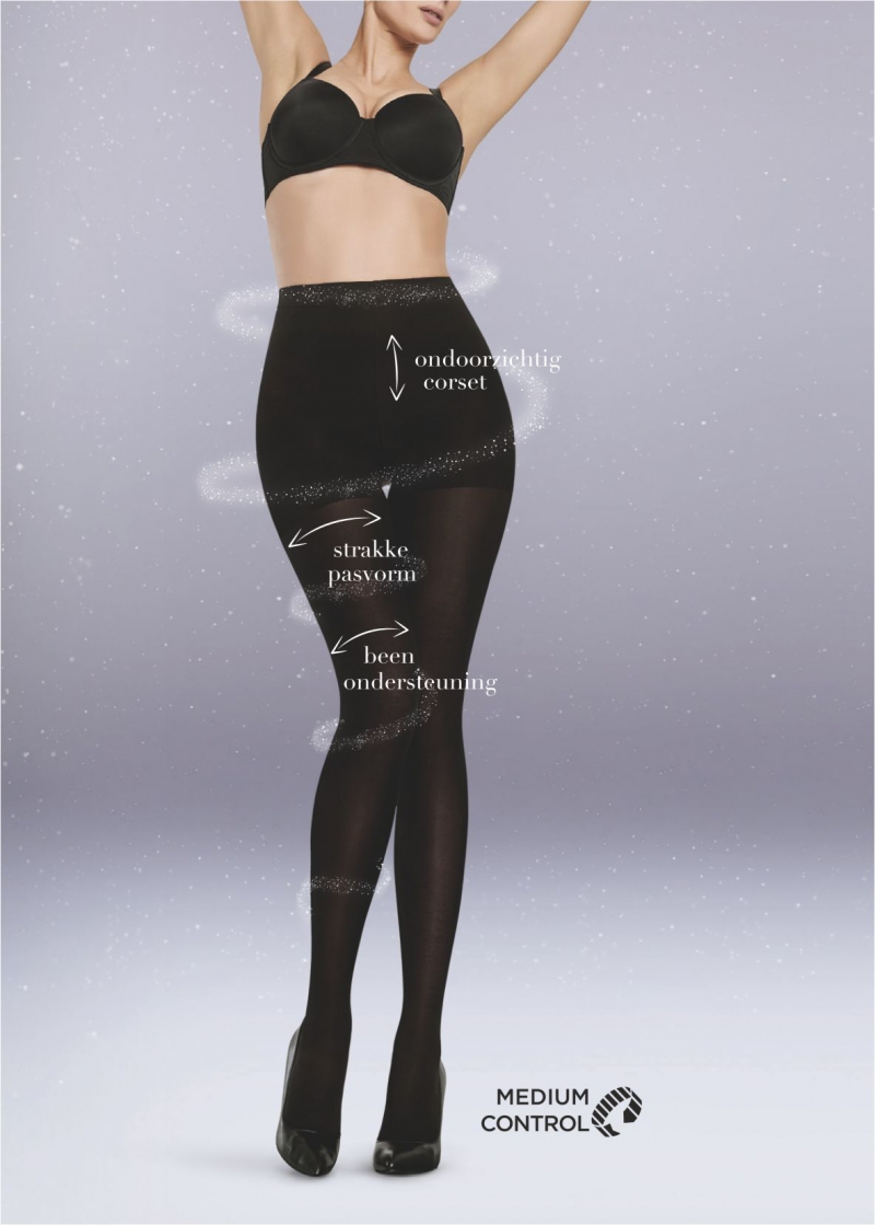 Silhouette tight 50 DEN panty ZWART